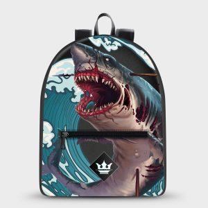 Zaino Monster Shark Dame Rouge
