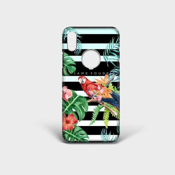 Cover Iphone Nature Dame Rouge