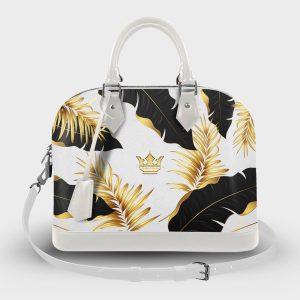 Soul Bag Golden White Dame Rouge
