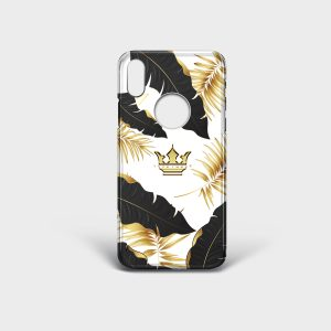 Cover Iphone Golden White Dame Rouge