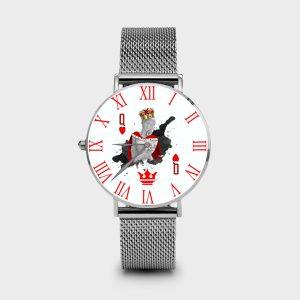 Metal Watch Regina di Cuori Dame Rouge
