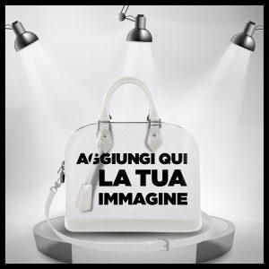 Custom Photo Collection Soul Bag White